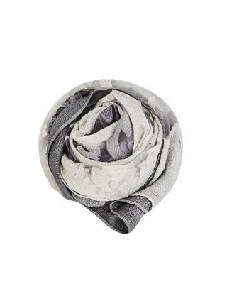 ジャガードグラデーションのスカーフ