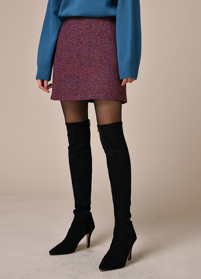 (3FSK085)ブクルミニウールスカート